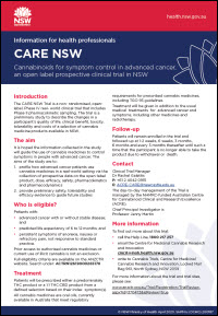 Care NSW Fact sheet
